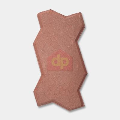 Gạch block tự chèn con sâu màu đỏ chất lượng tại Đại Phương