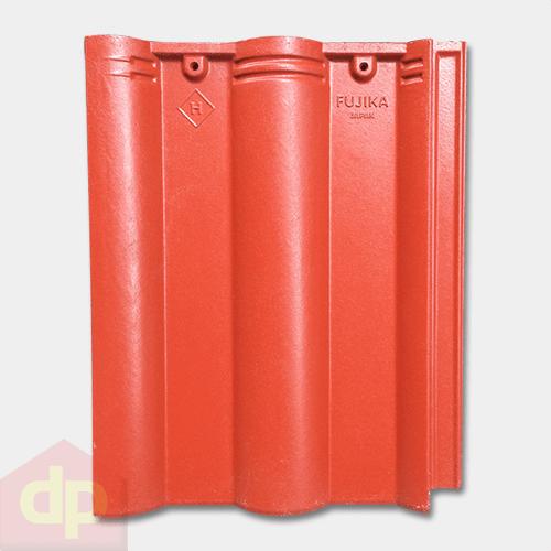 Ngói màu Fujika DP-05 màu đỏ cờ chất lượng Nhật Bản, giá rẻ tại Đại Phương