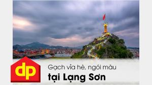 Đại Phương cung cấp thi công gạch lát vỉa hè, ngói màu tại Lạng Sơn