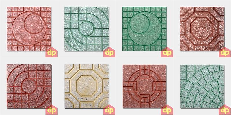 Mẫu gạch lát vỉa hè Terrazzo 300x300 mm và báo giá tốt nhất tại Đại Phương