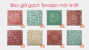 Bảng báo giá chi tiết giá gạch lát vỉa hè Terrazzo mới nhất Đại Phương