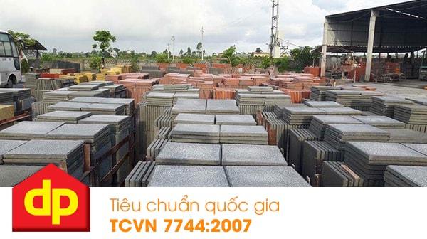 Gạch Terrazzo Đại Phương đạt tiêu chuẩn quốc gia TCVN 7744:2007