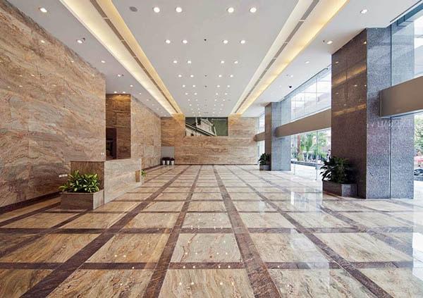 Đá granite mang lại sự sang trọng cho công trình