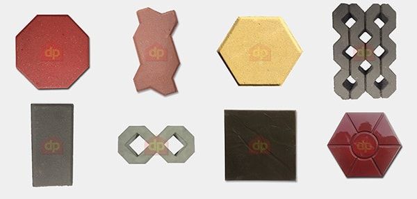 Các mẫu gạch block bê tông lát vỉa hè, lát sân vườn bán chạy nhất tại Đại Phương