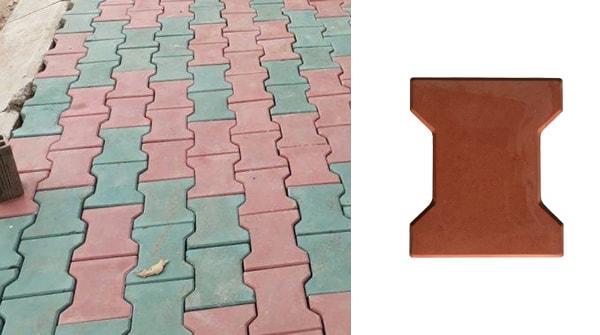 Kết hợp gạch chữ i đa màu sắc tạo điểm nhấn cho công trình của bạn